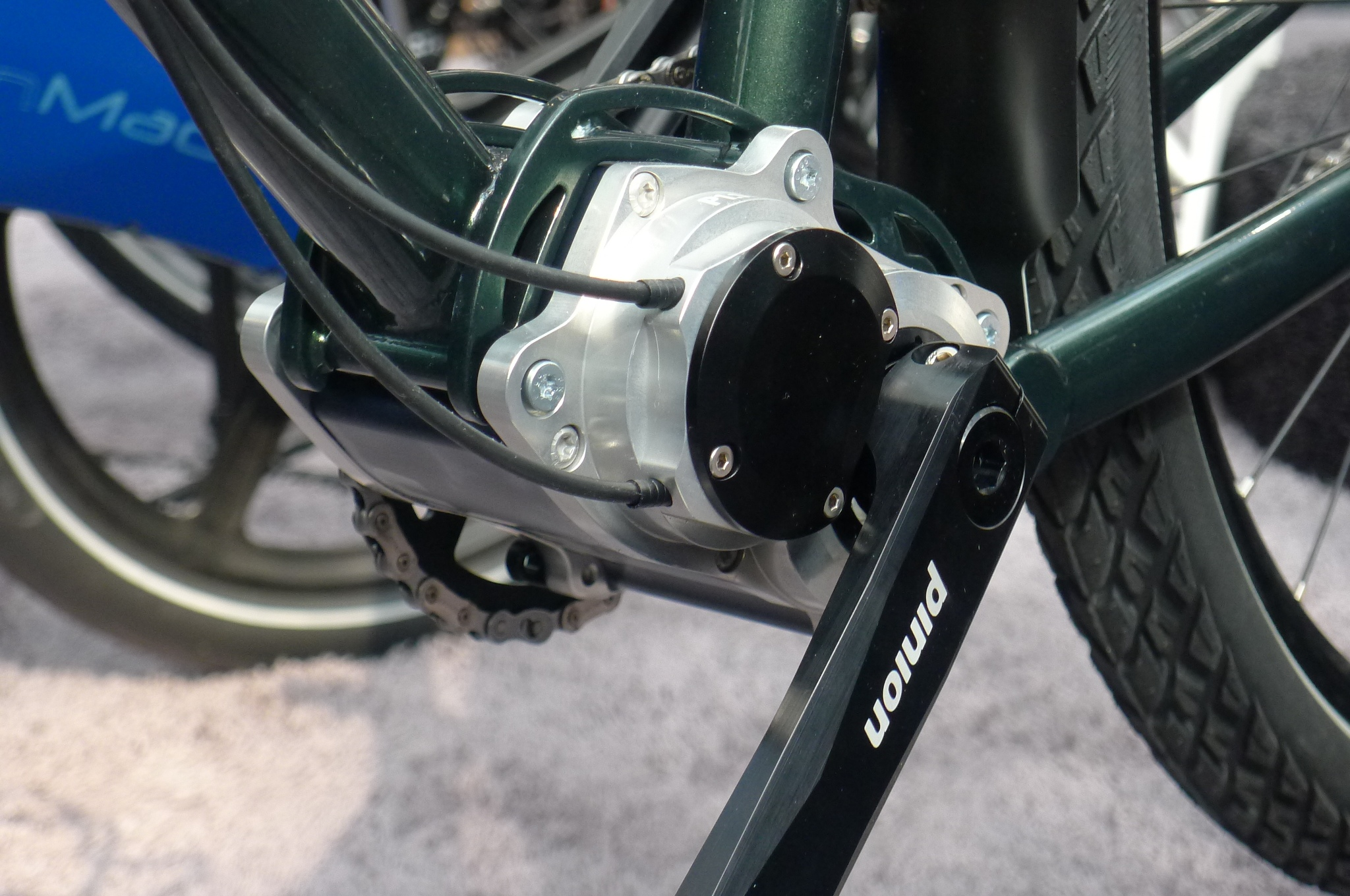 Pinion Gearbox 18 Speed The Future For Bike Touring A