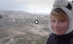 Video: Hot Air Ballooning Around Cappadocia