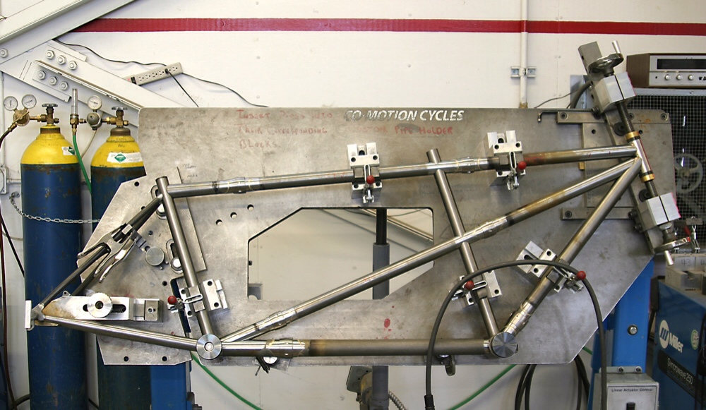 A Detailed Look Into The Custom Frame Building Process ...