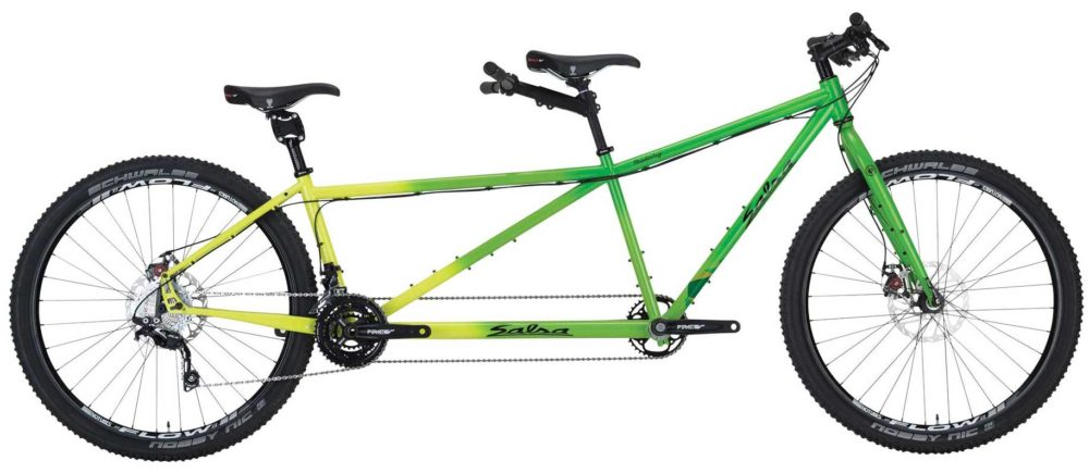 The Salsa Powderkeg is a solid off-road tandem option.