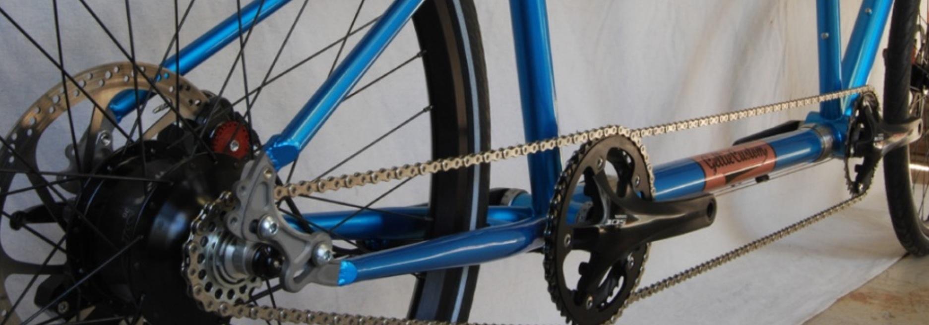 Gellie Custom Tandem Bikes Drivetrain