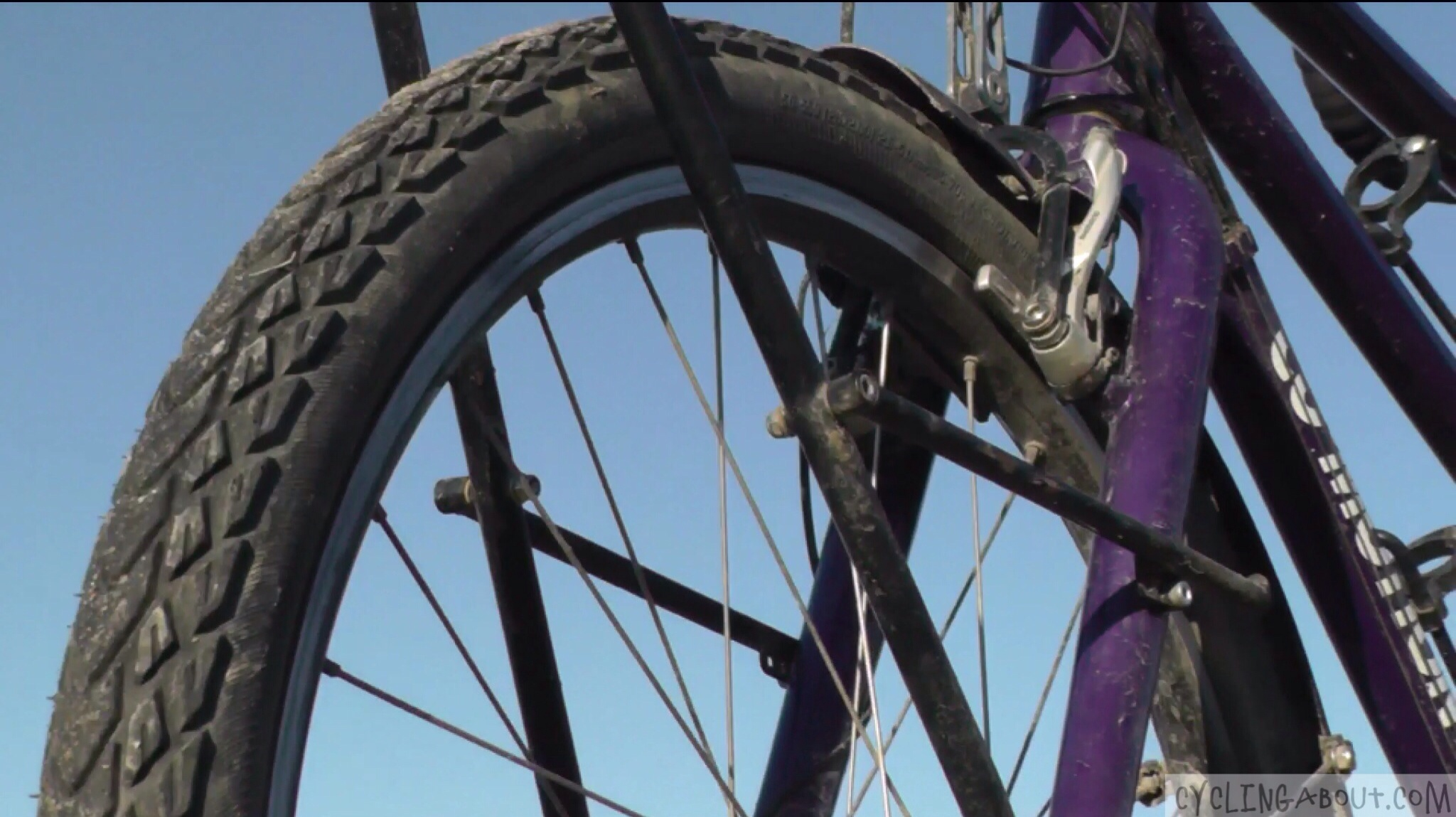 Tandem Bikes Front Rack