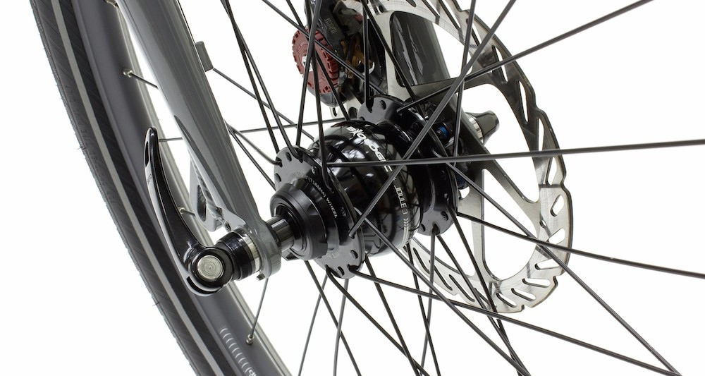 Power Resource For Bicycle Touring Dynamo Hubs Solar
