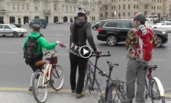 Video: Biking Baku (Azerbaijan)