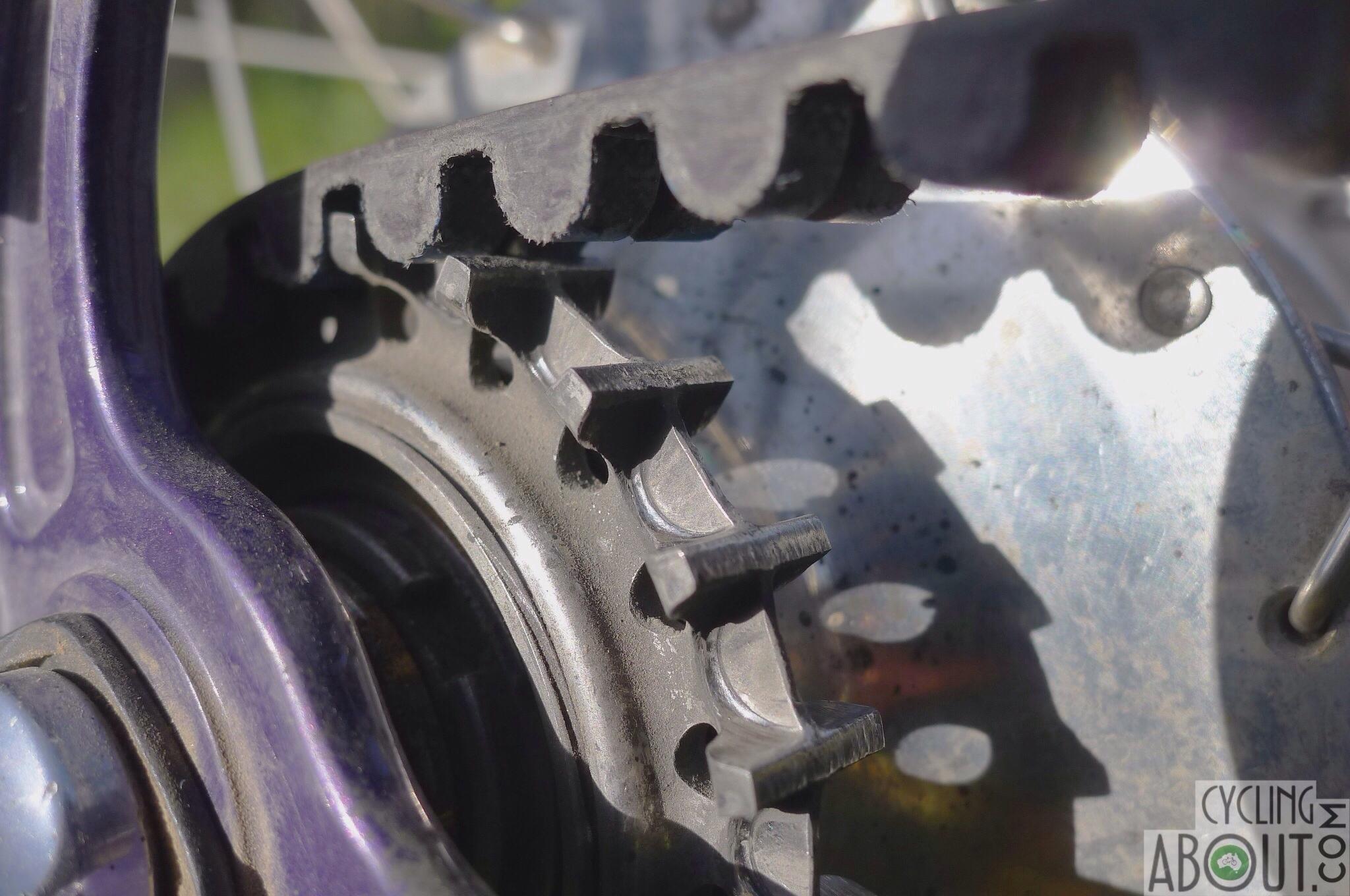 Gates carbon belt drive wear after 15000km +