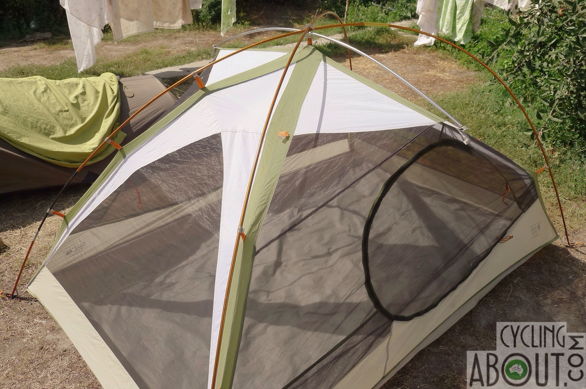 Mountain Hardwear skyledge 3 tent problems & How Our Ultralight Tent Died - CyclingAbout