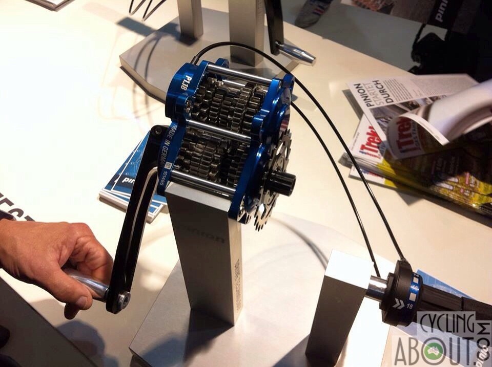Pinion gearbox eurobike 2013