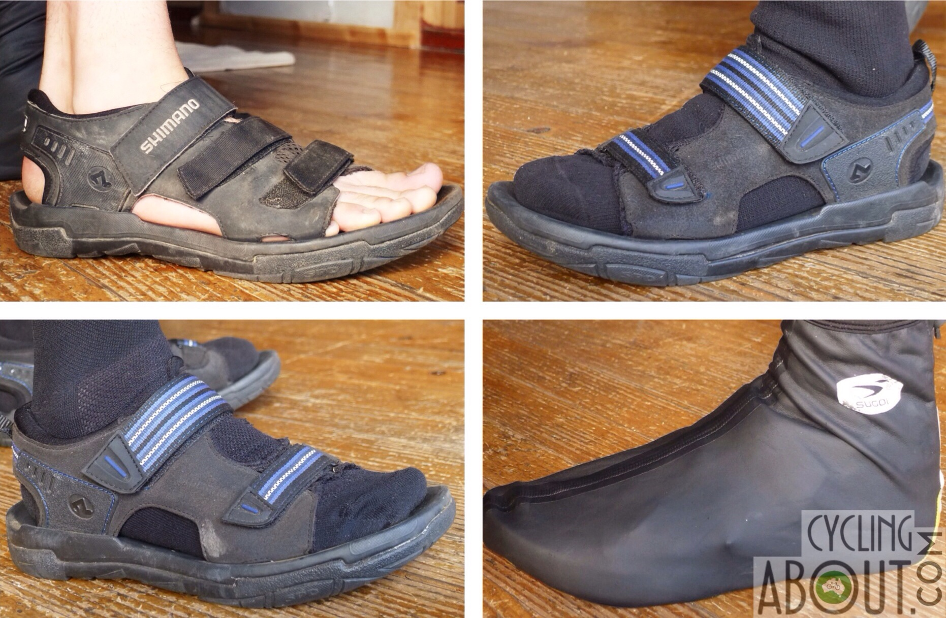 Cycling sandal review versatility weather conditions