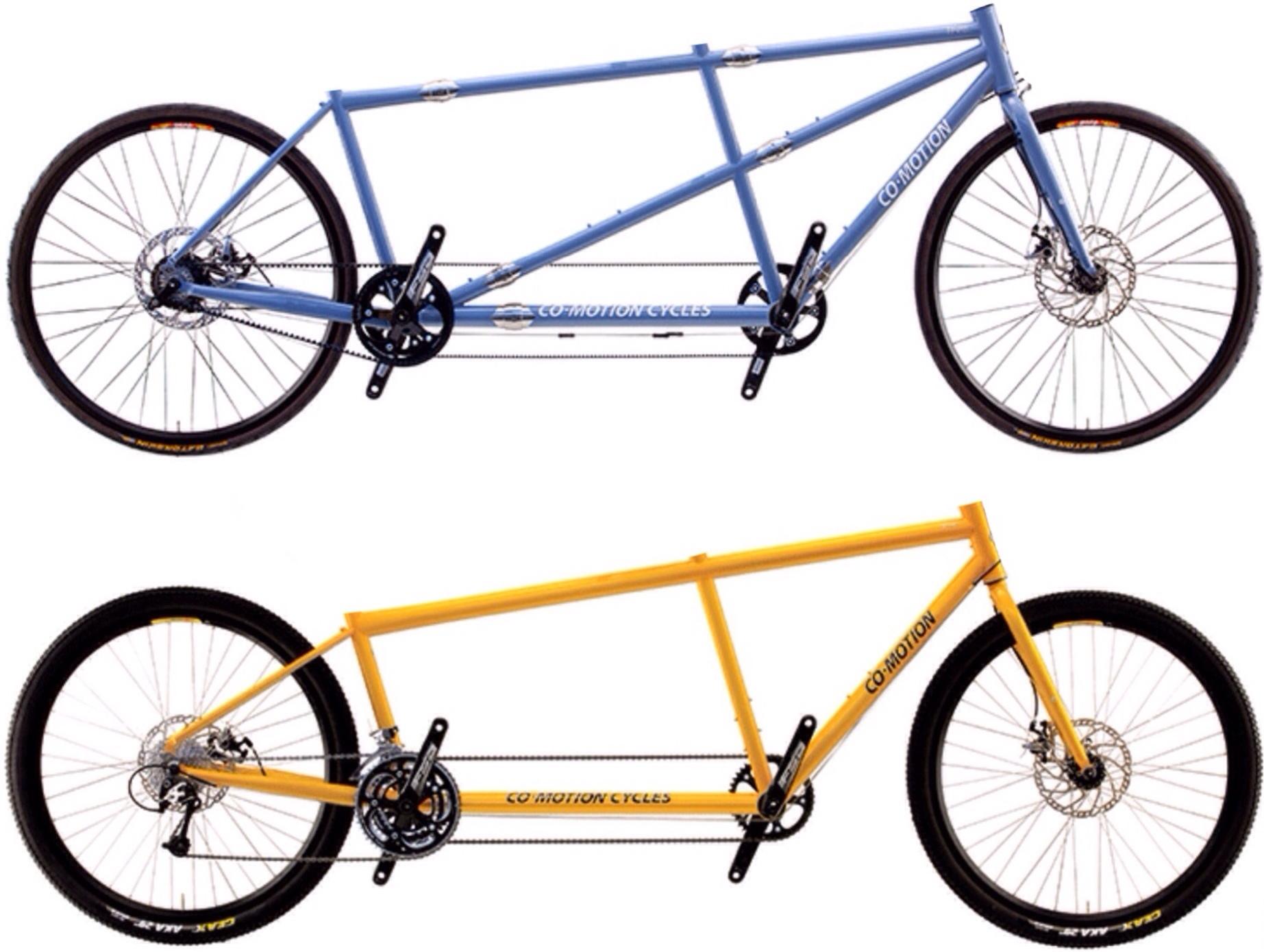 Marathon vs Compact Tandem Bikes