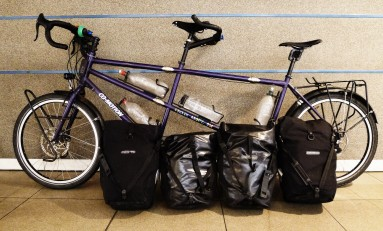 How To Pack Your Pannier Bags for a Bicycle Tour