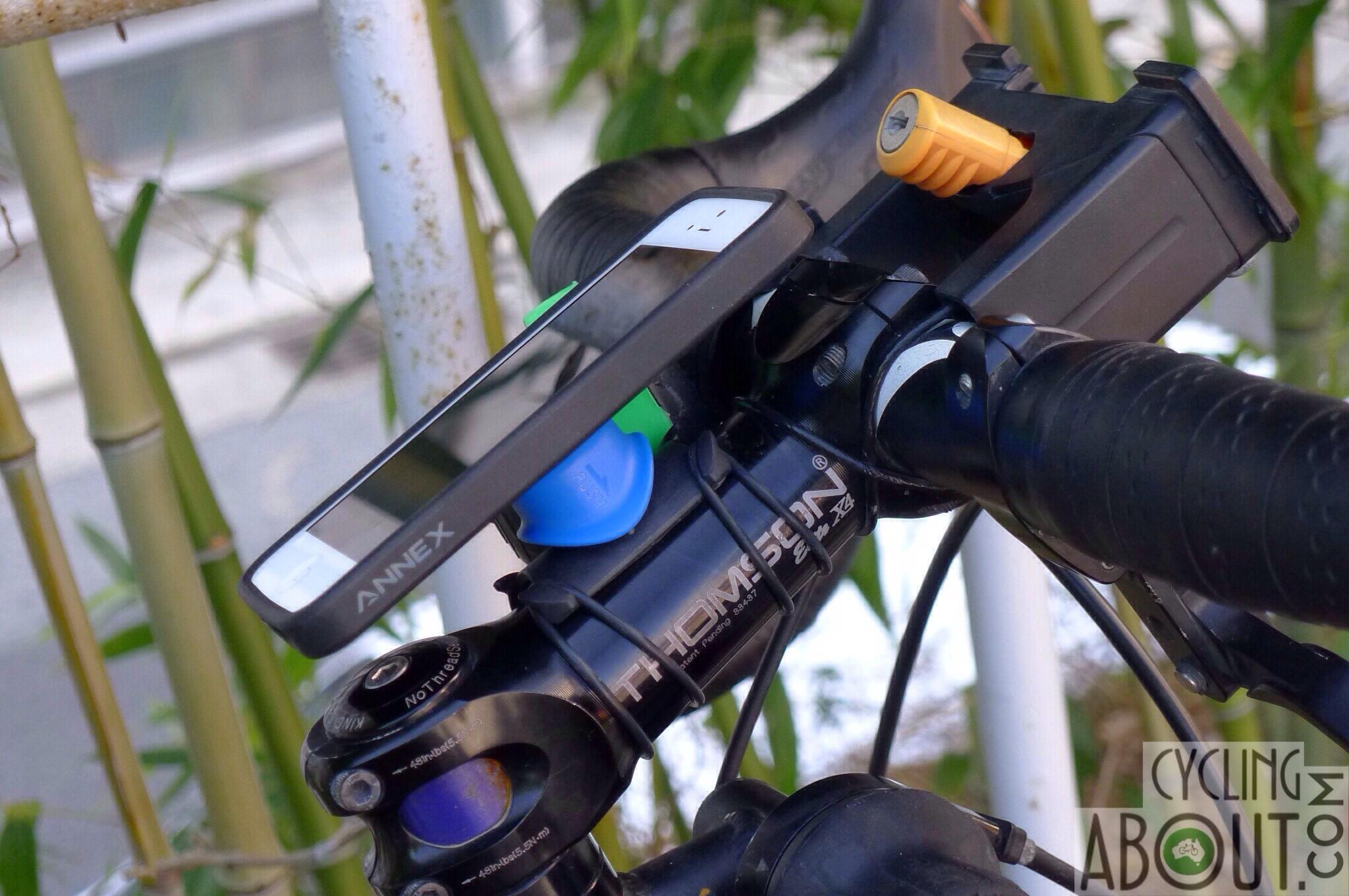 iphone holder cykel
