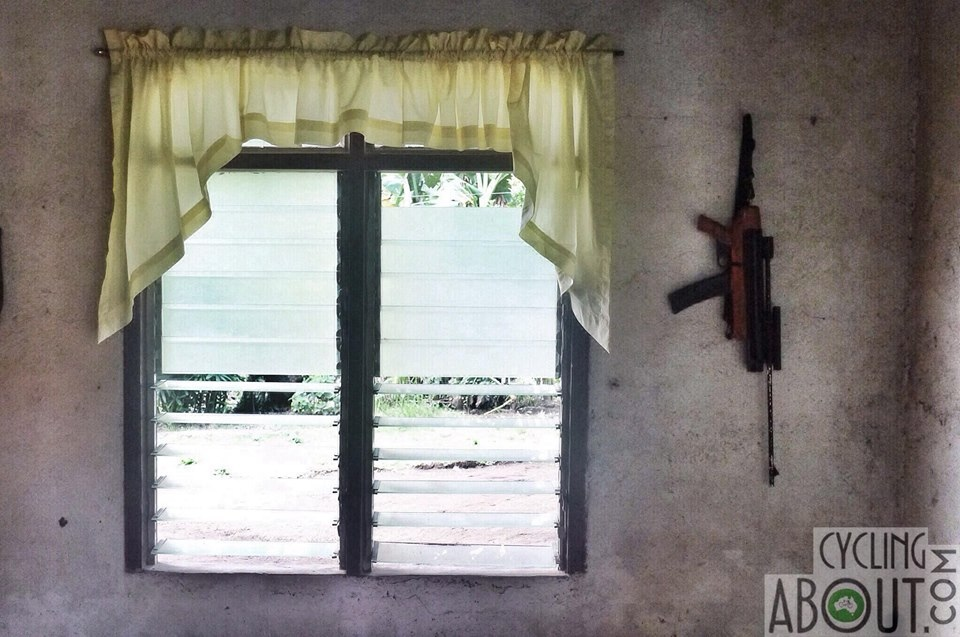 Gun in a house, the Philippines
