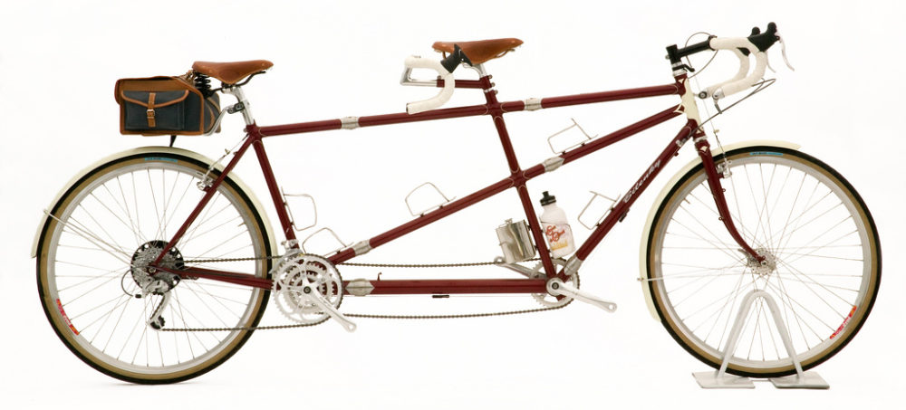 Custom Bilenky Steel Tandem Touring Bike 01