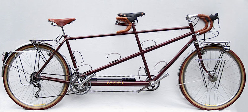 Custom Bilenky Steel Tandem Touring Bike 02