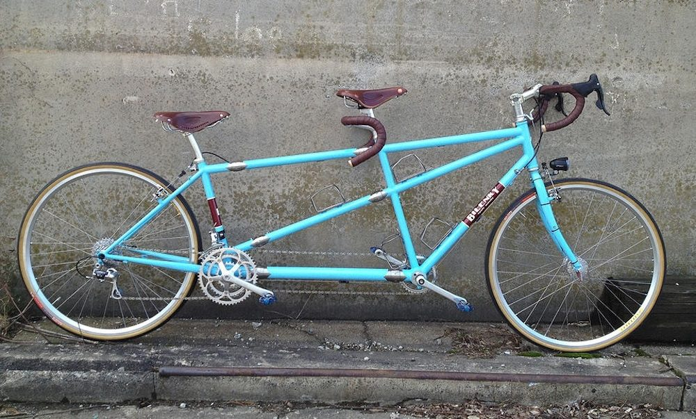 Custom Bilenky Steel Tandem Touring Bike 03