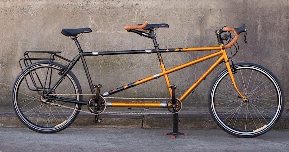 Custom Bilenky Steel Tandem Touring Bike 04
