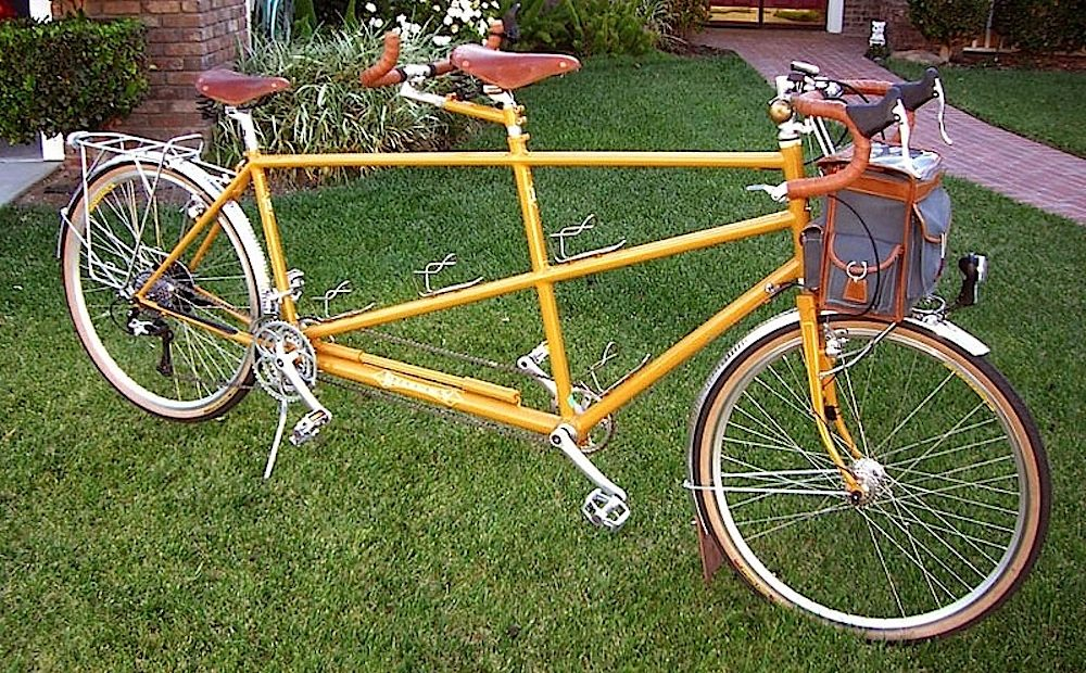 Custom Bilenky Steel Tandem Touring Bike 06