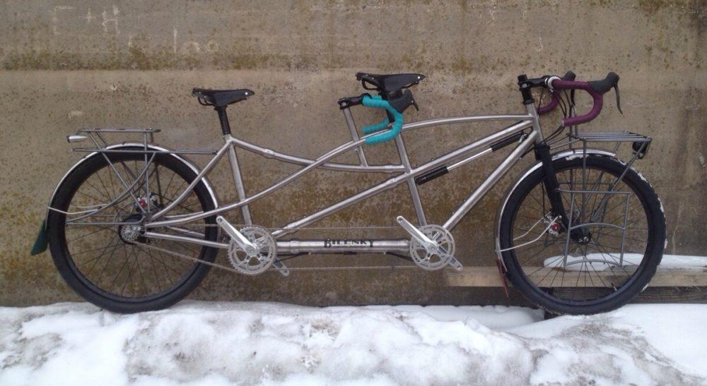 Custom Bilenky Titanium Tandem Touring Bike 02