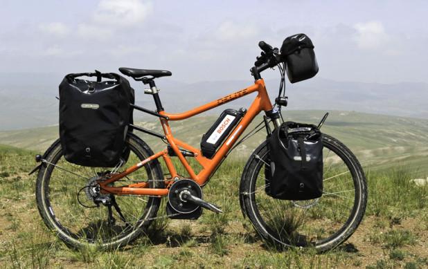 Ebike Touring