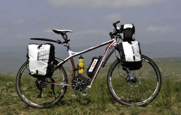 Electric Bicycle Touring