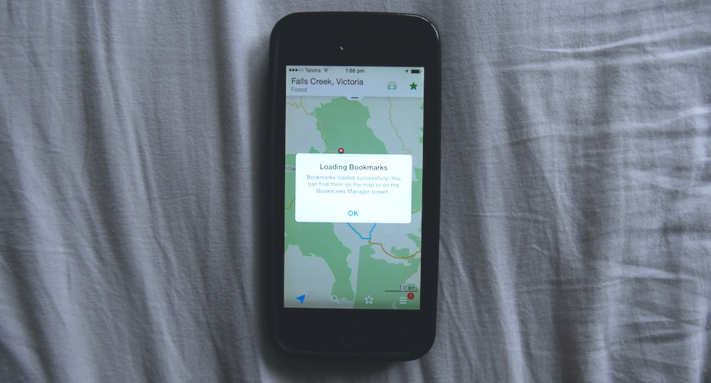 Smartphone Navigation: Import KML Routes into the Maps.me ...