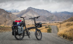 Carrying Luggage on a Folding Bike (Brompton, Tern, Dahon)