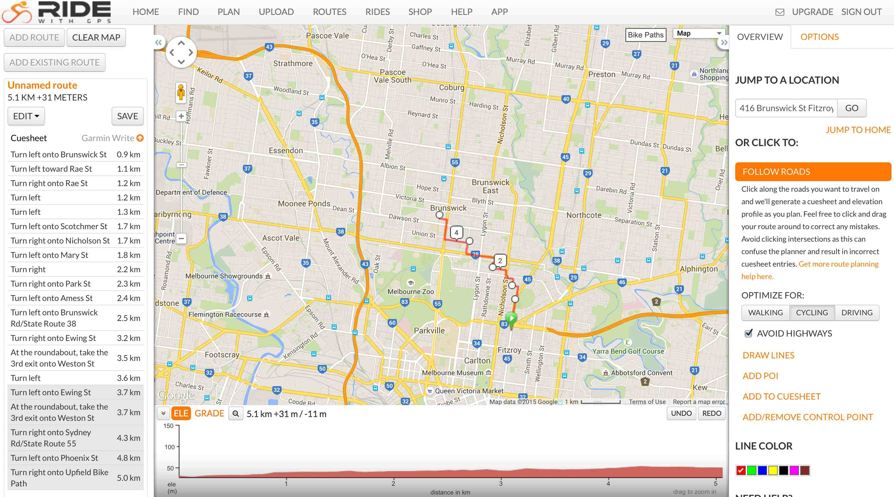 RideWithGPS: How to Create and Export Custom Routes For a ...