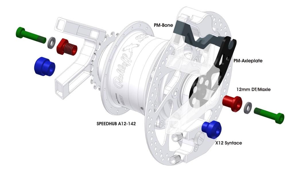 Rohloff Speedhub A12 142mm