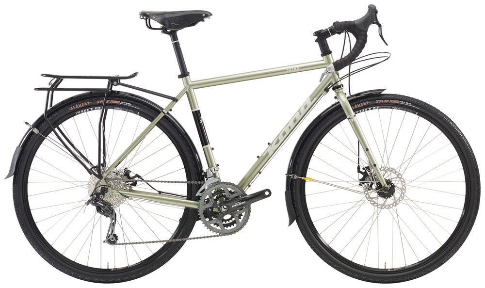 The Kona Sutra is one of the most refined touring bikes on this list.