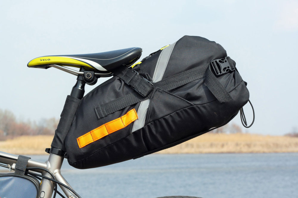 Bike Touring Handlebar Bag