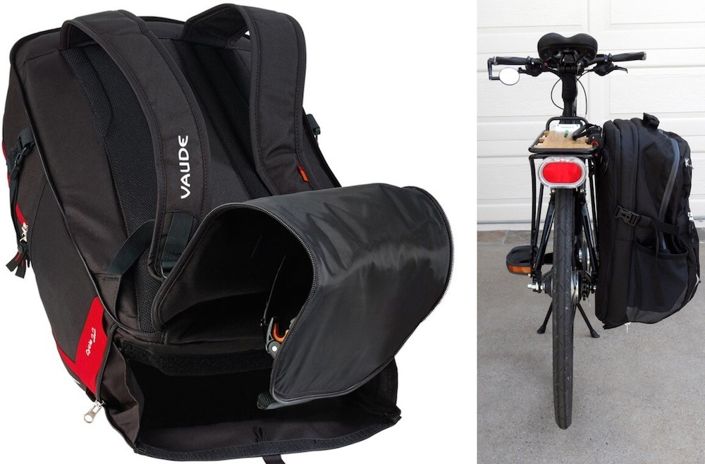 15 Convertible Backpack Panniers That Can Be Strapped To
