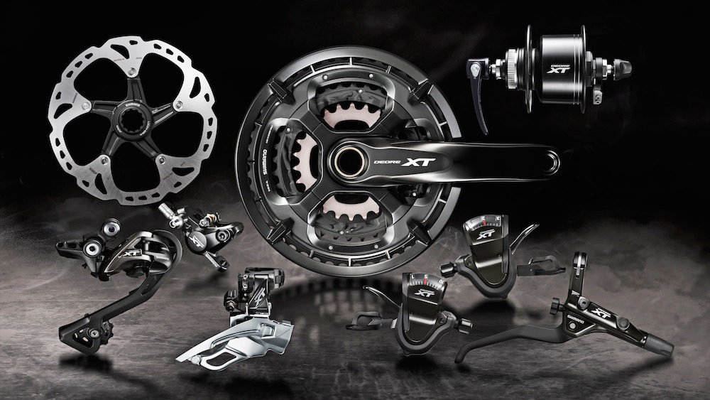 Welcoming Shimano XT T8000 to the line up.