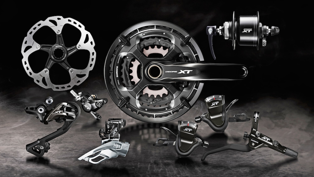 A Look At The New 2017 Shimano Deore Xt T8000 Touring And