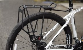 Rear Pannier Racks For Short Chainstays And Extra Heel Clearance