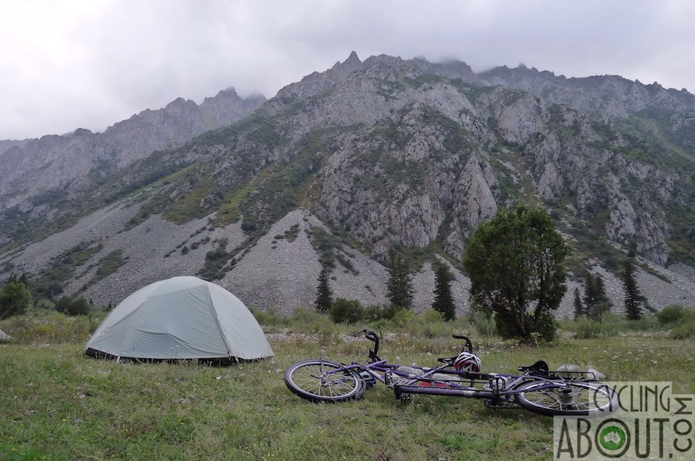 Kyrgyzstan bicycle touring