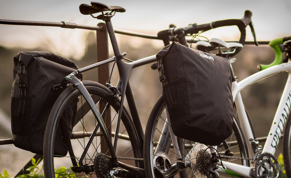 Tailfin Racks and Panniers