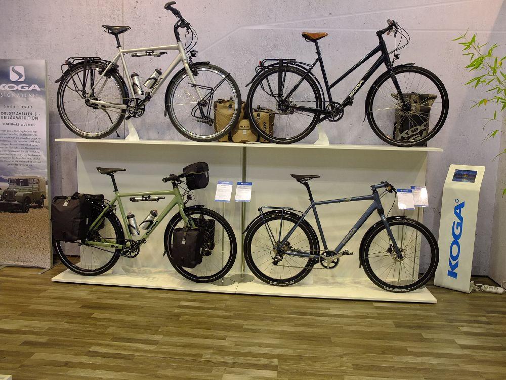 Koga touring bikes