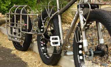 This Moots Snoots Fat Bike and Trailer for Antarctica is Wild!