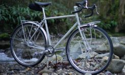 This Jolie Rouge Touring Bike Offers ALL The Details!