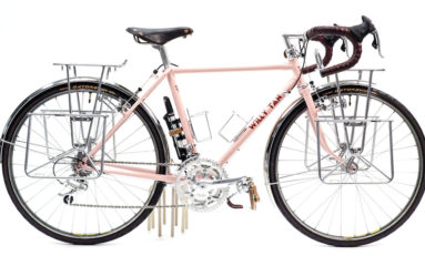 XXS Pink Tourer: University of Iowa Hand Built Bicycle Program