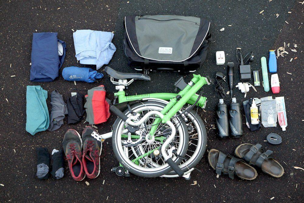 folding bike holiday