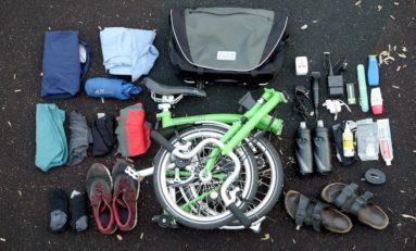Folding Bike Holiday To Sri Lanka: 5kg Gear List
