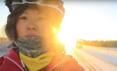 Video: Jin Has Been Cycling The World For Over 60,000km