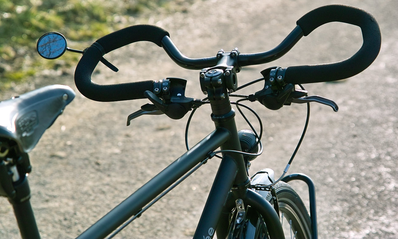 All about bicycle touring handlebars with multiple hand for Motor cycle handle bars