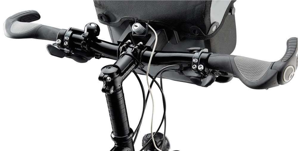 Flat Handlebar for Bicycle Touring
