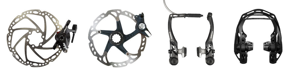 touring bike brakes