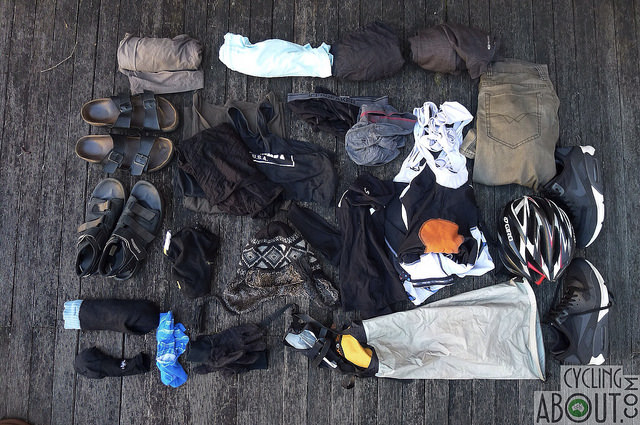 Bike Touring Gear List Clothing