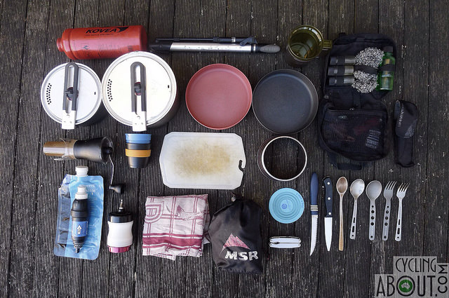 Bike Touring Gear List Cooking
