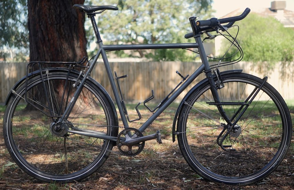 custom touring bike