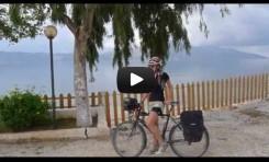 Video: Bicycle Touring Vlorë to Dhërmi (Albania)